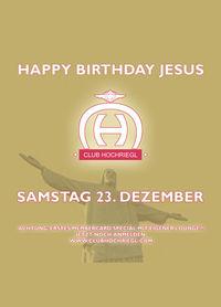 Happy Birthdy Jesus