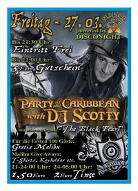 Party of the Caribbean with Dj Scotty@Excalibur