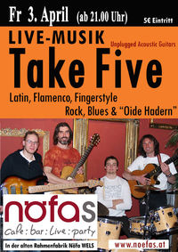 take five - gitarren unplugged@Nöfas