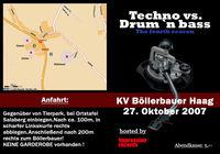 Techno vs Drum´n´Bass@Böllerbauer