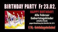 Birthdayparty Februar
