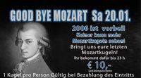 Good bye Mozart!
