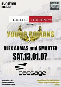 House Society pres. Young Romans@Babenberger Passage