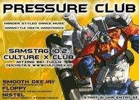 Pressure-Club@Culture X Club