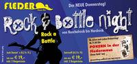 Rock & Bottle Night - von Kuschelrock bis Hardrock@Fledermaus Enns