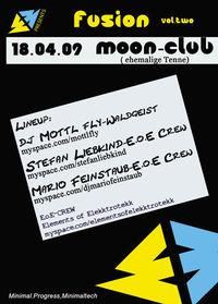 Elements of Elekktrotekk presens: FUSION vol.two@Moon-Club Fügen@Moon-Club (Ehemalige Tenne Fügen)