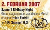 Szene1 Birthday Night@Disco Bel