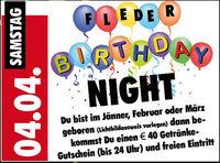 Fleder Birthday Night