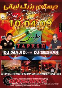 Tapesh - Big Oriental Dance Night