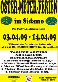 Oster-Meter-Ferien im Sidamo@Cafe Sidamo Mank