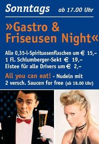 Gastro und Friseusen Night