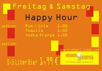 Happy Hour@Bierpub Krügerl