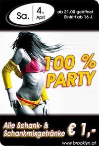 100% Party@Brooklyn