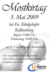 Stefansharter Mostkirtag@Fam. Königshofer