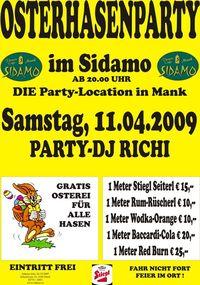 Osterhasenparty@Cafe Sidamo Mank
