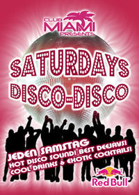 Saturday Disco Night@Club-Miami