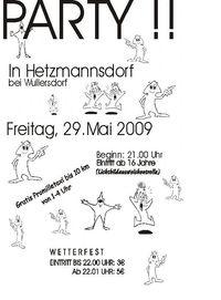 Party Hetzmannsdorf@Hetzmannsdorf