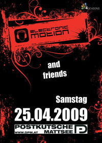 Electronic Motion & Friends@Disco Postkutsche