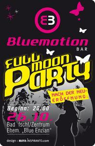 Fullmoon Party@Bluemotion BAR