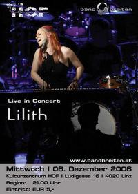 Live im Hof - Lilith@Kulturzentrum HOF