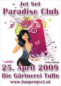 Jet Set Paradise Club@Die Gärnterei