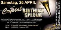 Club Crystal - Birthday Special