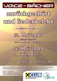 Voice-Båcher - zurückgechört und liederbelebt@Mehrzweckhalle