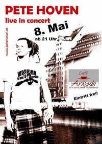 Pete Hoven live in Concert@Cafe Arkade