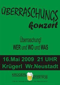 Überraschunskonzert@Bierpub Krügerl