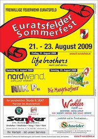 Euratsfelder Sommerfest@Feuerwehr Euratsfeld