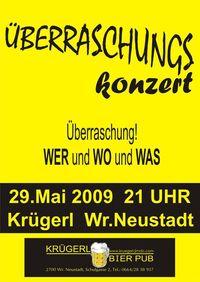 Überraschungskonzert@Bierpub Krügerl