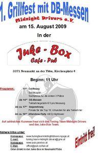 Grillfest mit DB-Messen in der Juke-Box in 3371 Neumarkt an der Ybbs!!@Juke Box - Cafe Pub 3371 Neumarkt Ybbs