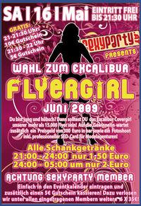 Wahl zum Excalibur Flyer Girl Juni 2009@Excalibur