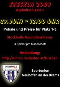 Steckln 2009@Sportplatz Sportunion Neuhofen