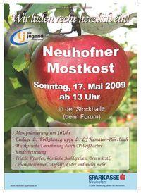 Neuhofner Mostkost@Stockschützenhalle Neuhofen