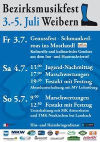 Bezirksmusikfest Weibern@Weibern Zentum