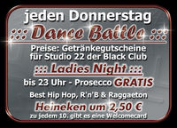 Dance Battle & Ladies Night