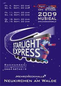 Starlight Express@Mehrzweckhalle