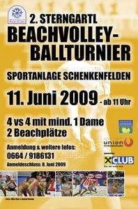 2. SternGartl Beachvolleyballturnier@Sportanlage Schenkenfelden
