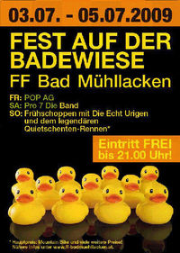 Fest auf der Badewiese@Badewiese Bad Mühllacken