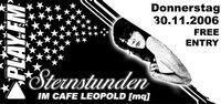 Play.fm Sternstunden@Café Leopold