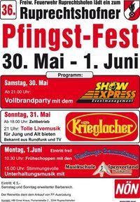 Vollbrandparty FF Ruprechtshofen@Ruprechtshofner Pfingst - Fest