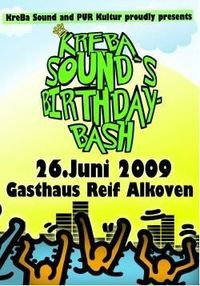 KreBa Sounds Birthdaybash@Gh. Reif