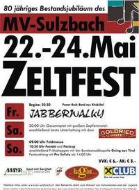 Zeltfest MV-Sulzbach@Sportplatz Sulzbach