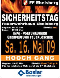 Sicherheitstag FF-Ebelsberg@Feuerwehrhaus Ebelsberg