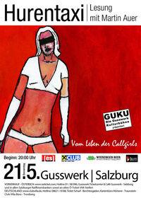Hurentaxi: Vom Leben der Callgirls - Ein Tagebuch von Martin Auer@Gusswerk