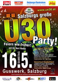 Ü30 - Jubiläumsparty