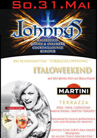 Martini Terrazza - Italoweekend@Johnnys - The Castle of Emotions