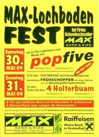 Max-Lochboden-Fest@Fa. Schweinschwaller (Max-Sand & Kies)