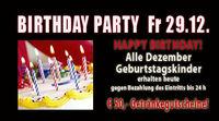 Birthday Party Dezember